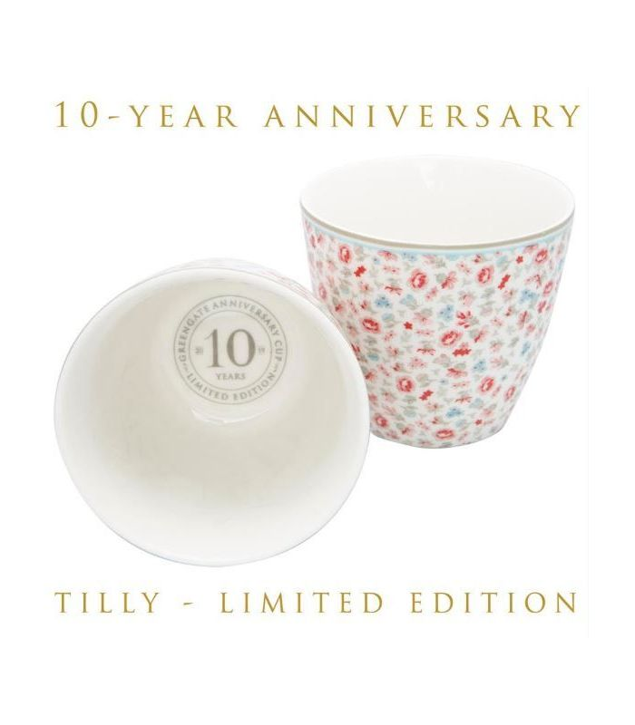 GreenGate - Tilly Latte Cup off white