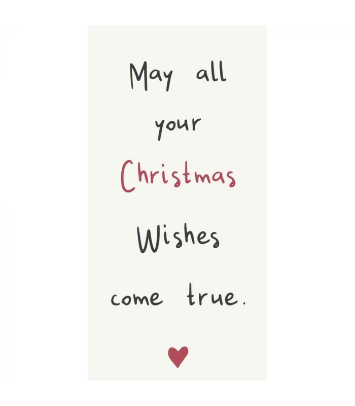 Ib Laursen - Serviette May all your Christmas wishes come true 16 Stück